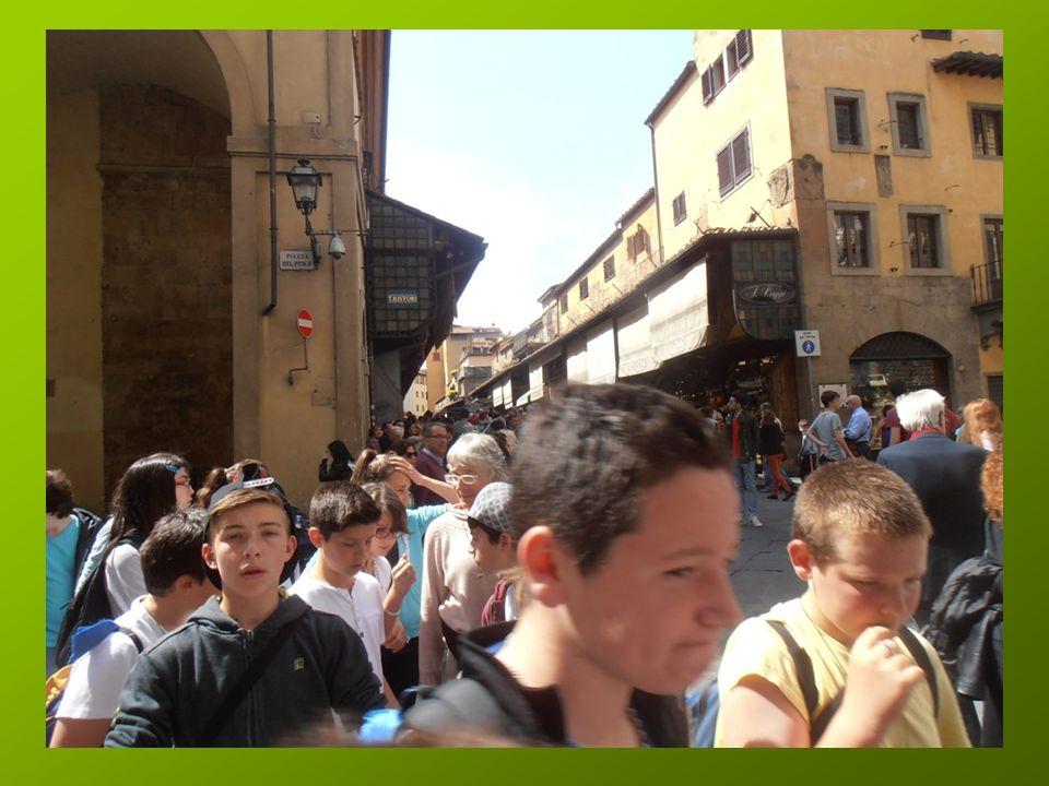 Le Ponte Vecchio que certains traverseront un peu plus tard …