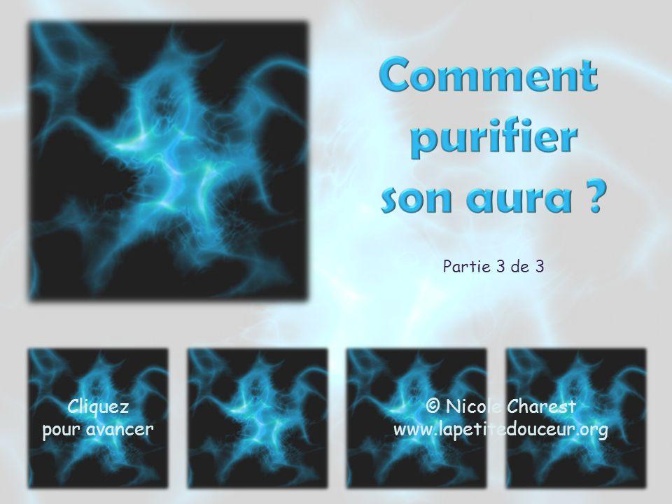 Partie 3 de 3 Cliquez pour avancer © Nicole Charest www.lapetitedouceur.org