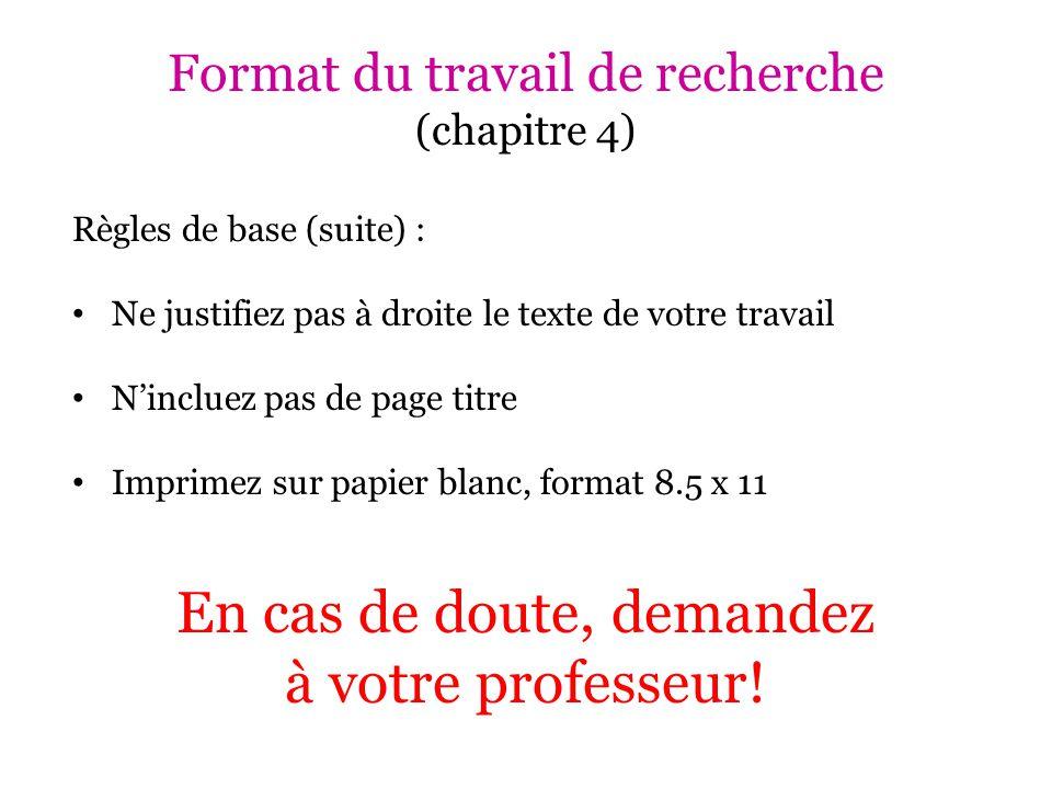 Documentation : Notes de cours - example Nom du professeur.