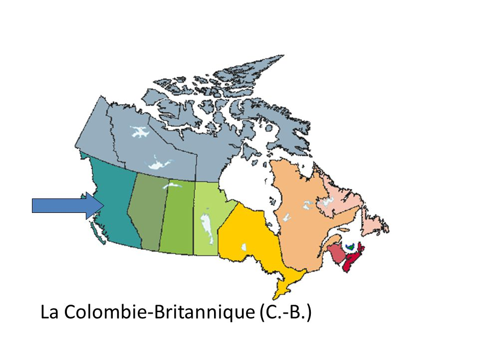 La Colombie-Britannique (C.-B.)
