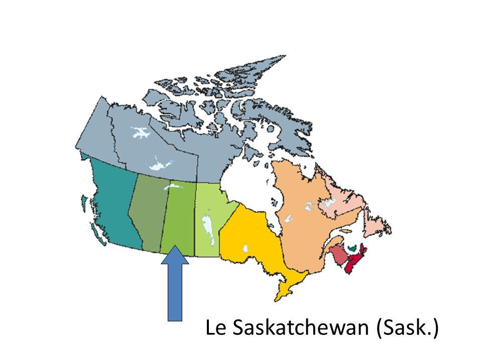Le Saskatchewan (Sask.)