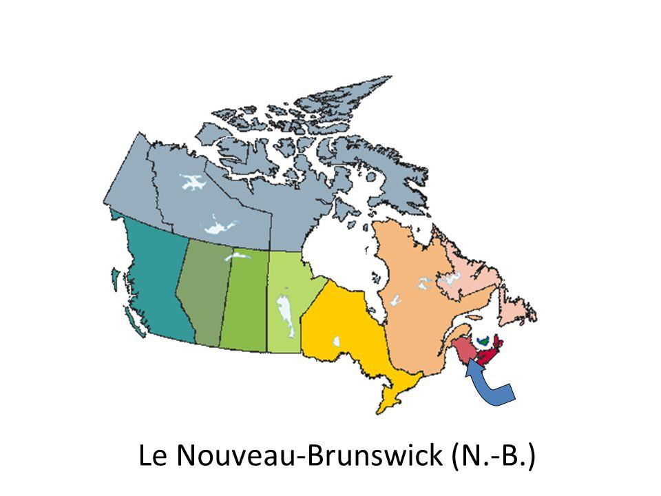Le Nouveau-Brunswick (N.-B.)