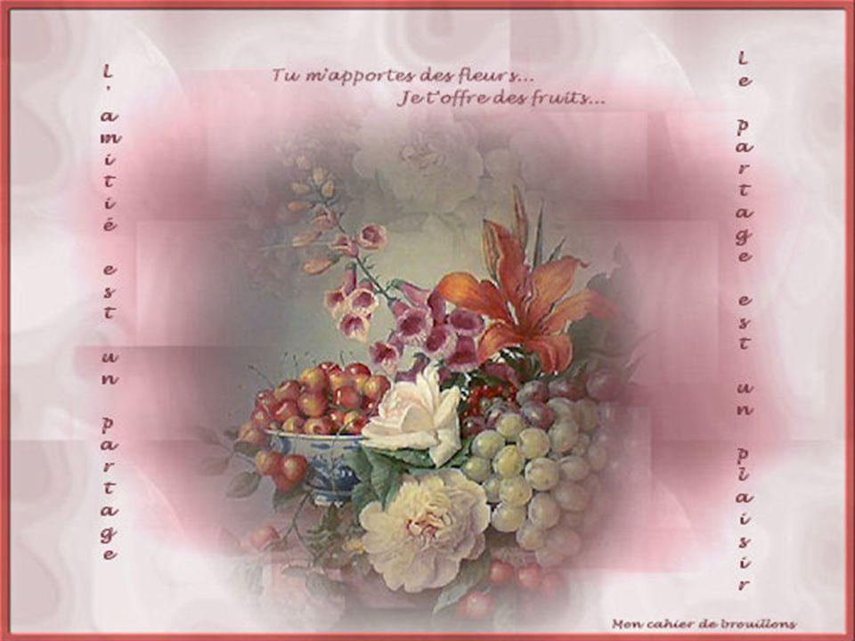 Des fleurs et des fruits, Et des mots pour le dire...