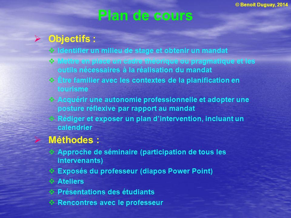 © Benoit Duguay, 2014 Atelier  Préparation du curriculum vitae et de la lettre de présentation