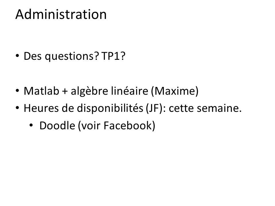Administration Des questions.TP1.