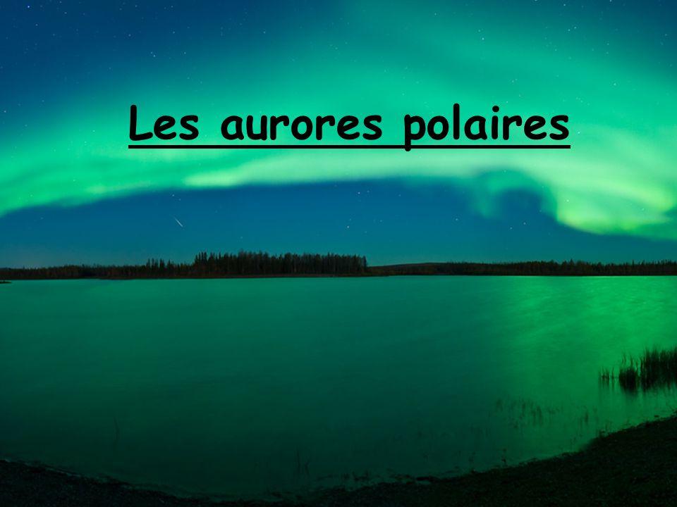 Les aurores polaires