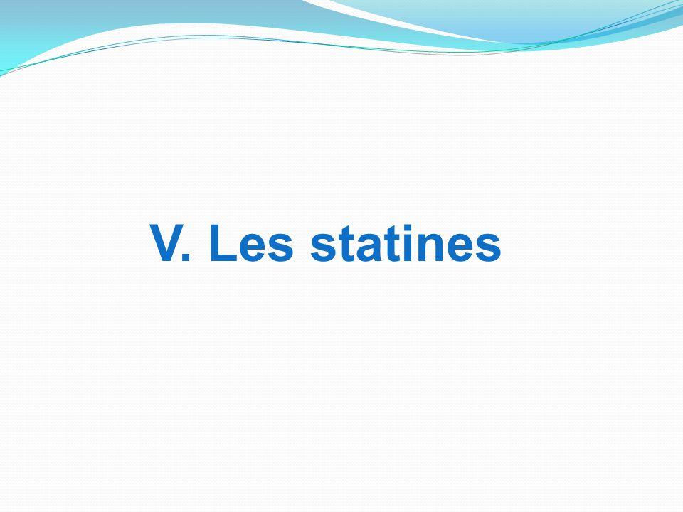 V. Les statines