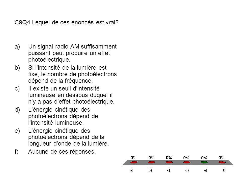 9.3 L'effet Compton Longueur d'onde de Compton