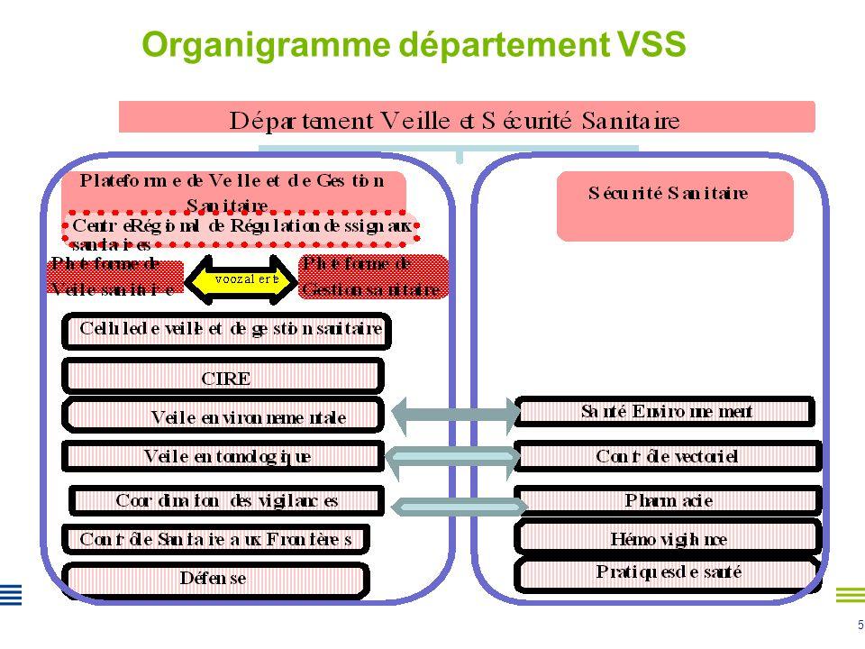 5 Organigramme département VSS