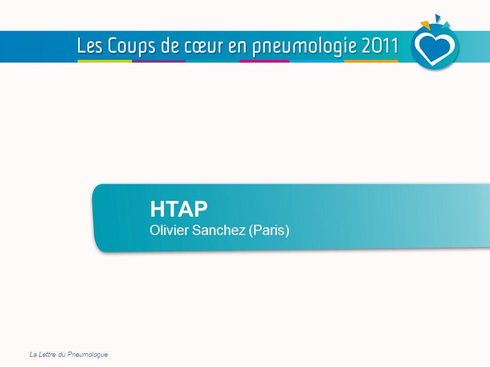 BPCO HTAP Olivier Sanchez (Paris) La Lettre du Pneumologue