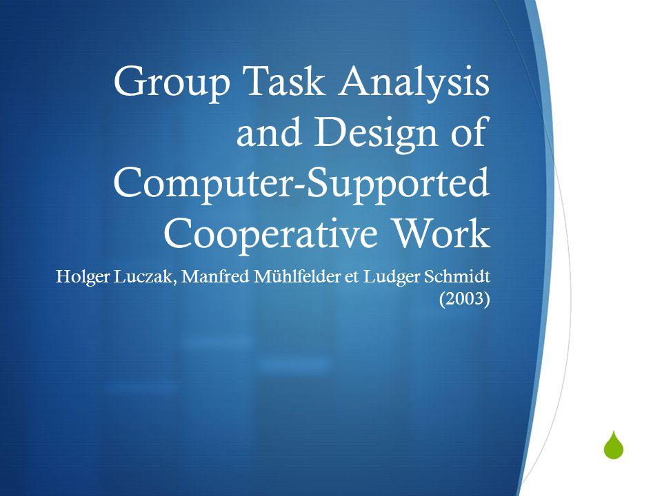  Expliquer les problèmes cognitifs dans la collaboration et les appliquer à un projet de planification d'un scénario collaboratif.