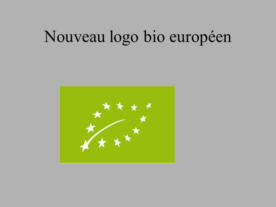 Nouveau logo bio européen