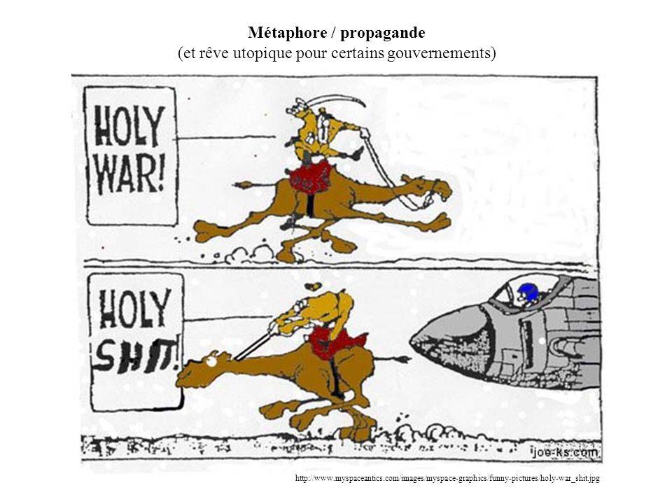 Métaphore / propagande (et rêve utopique pour certains gouvernements) http://www.myspaceantics.com/images/myspace-graphics/funny-pictures/holy-war_shit.jpg
