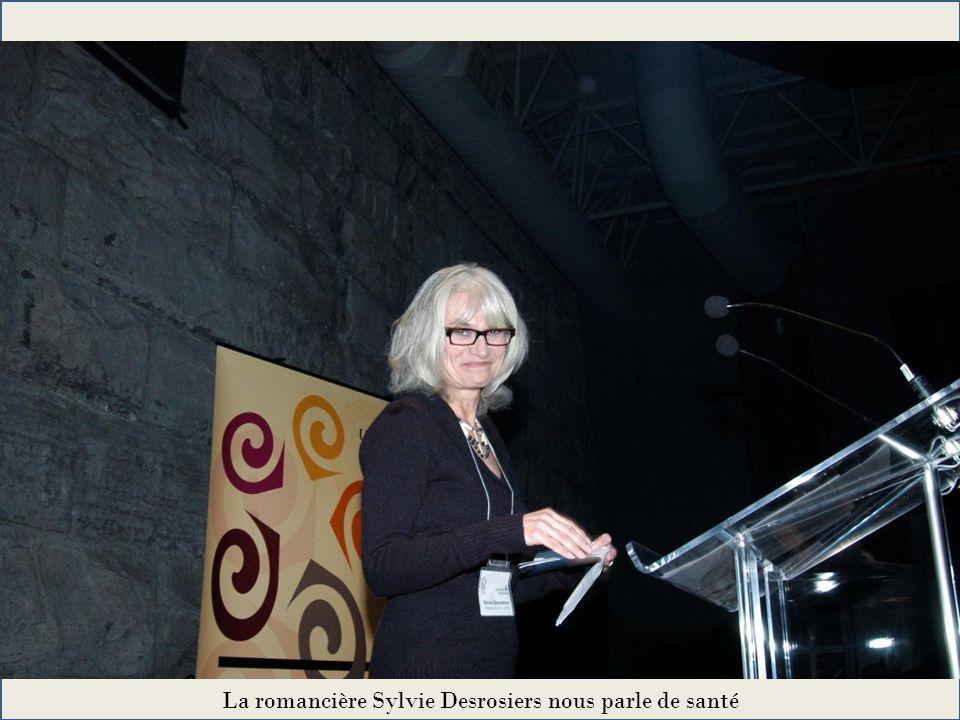 La romancière Sylvie Desrosiers nous parle de santé