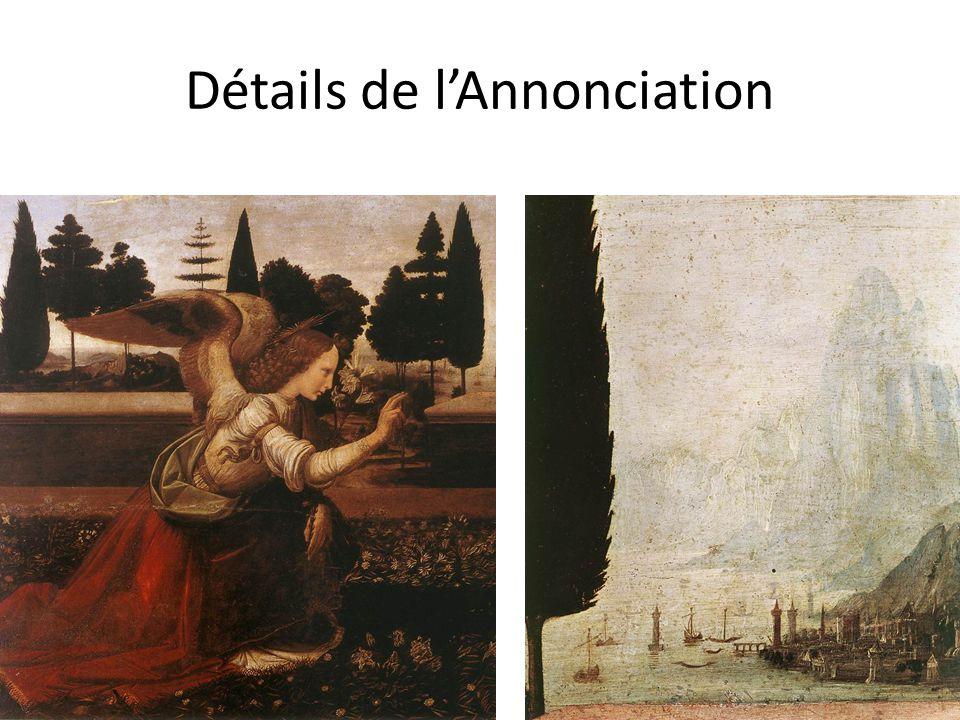 Détails de l'Annonciation