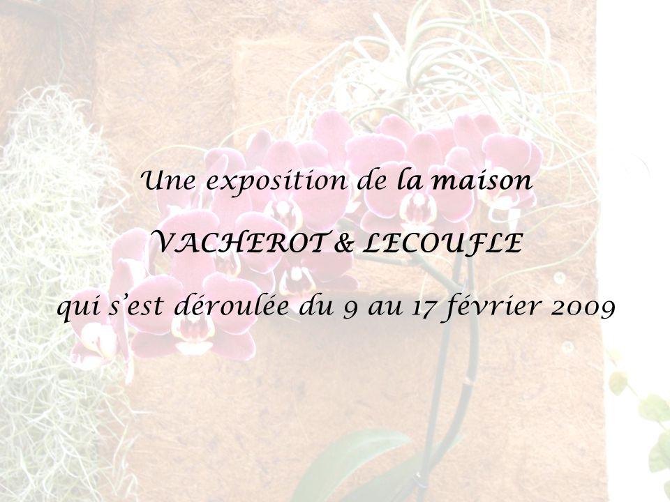Une exposition de la maison VACHEROT & LECOUFLE qui s'est déroulée du 9 au 17 février 2009