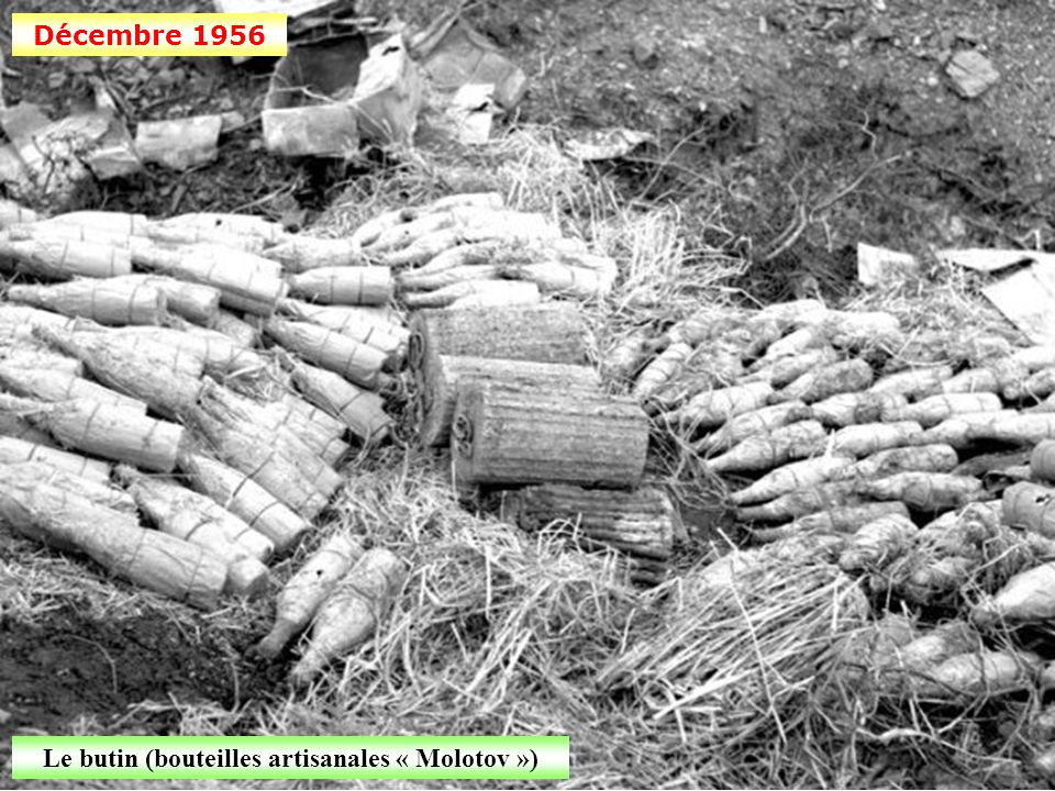 Décembre 1956 Une bouteille « Molotov »