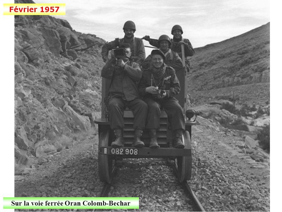 7 janvier 1957 Début de la bataille d'Alger