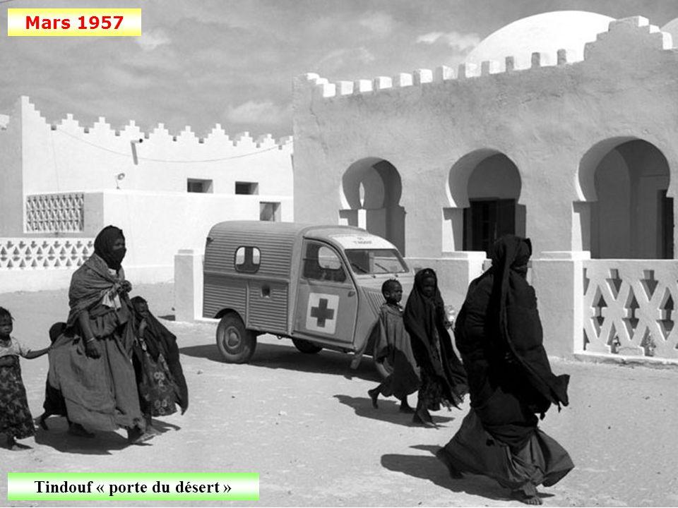 Février 1957 Surveillance d'un site minier dans la région de Haddada