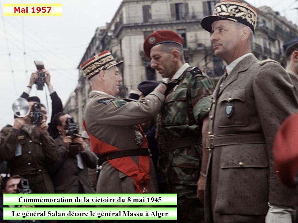 Mars 1957 Arrivée d'une importante partie de l'escadre de Méditerranée à Alger