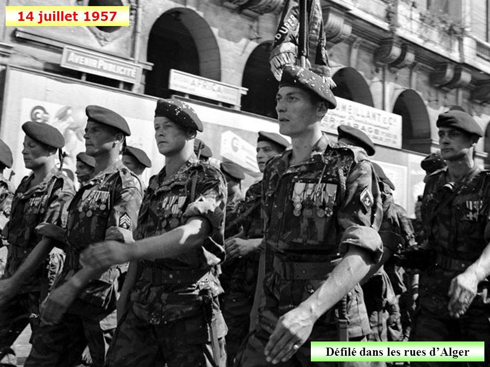 Juin 1957 Assistance médicale gratuite vers Miliana