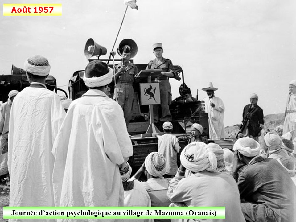 Juillet 1957 Surveillance à la frontière algéro-tunisienne (ligne Morice)