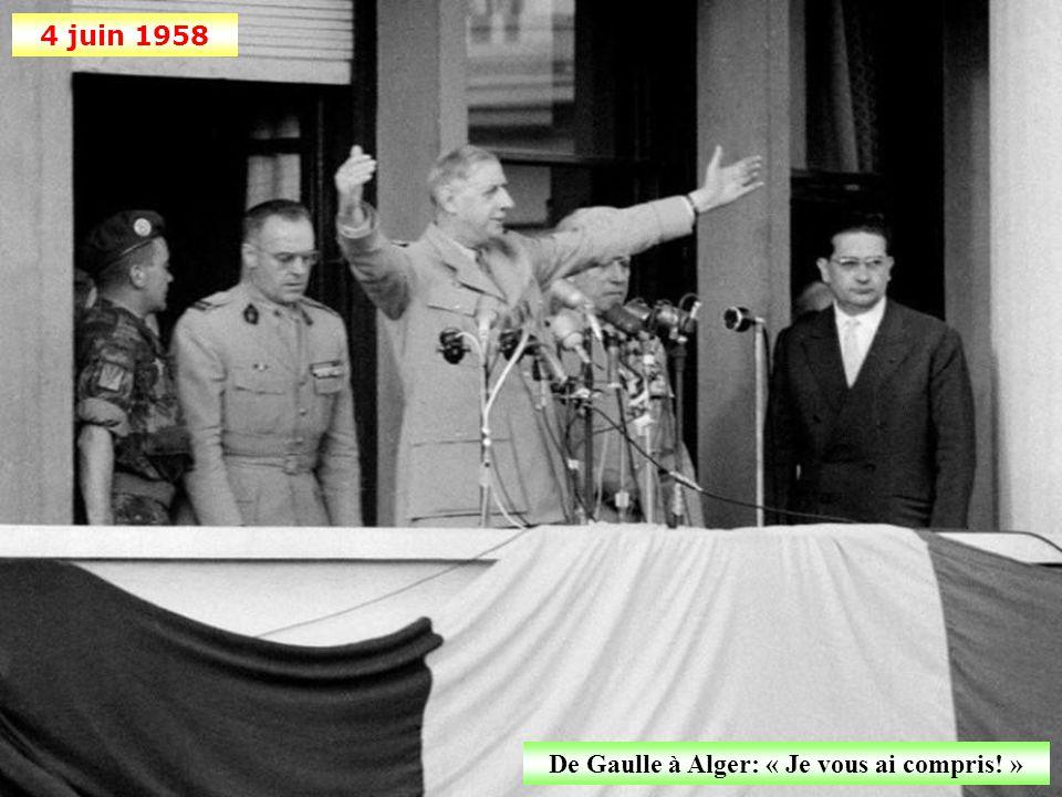 17 mai 1958 Accueil triomphal de Jacques Soustelle à Alger