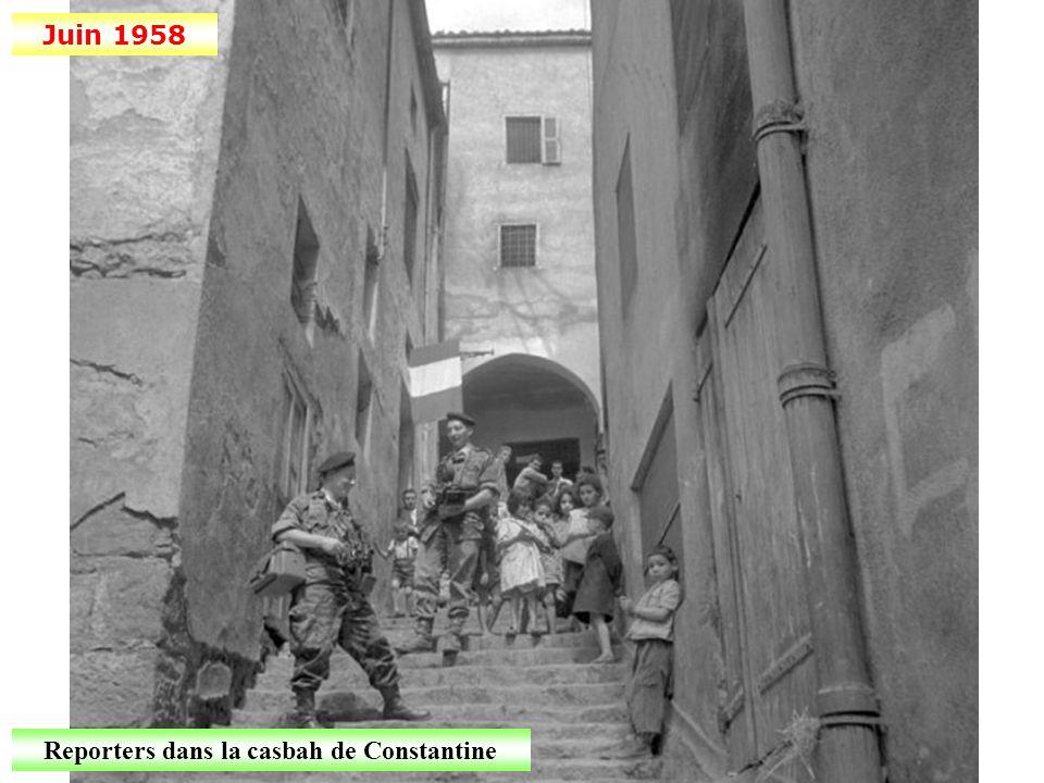 4 juin 1958 De Gaulle à Alger: « Je vous ai compris! »