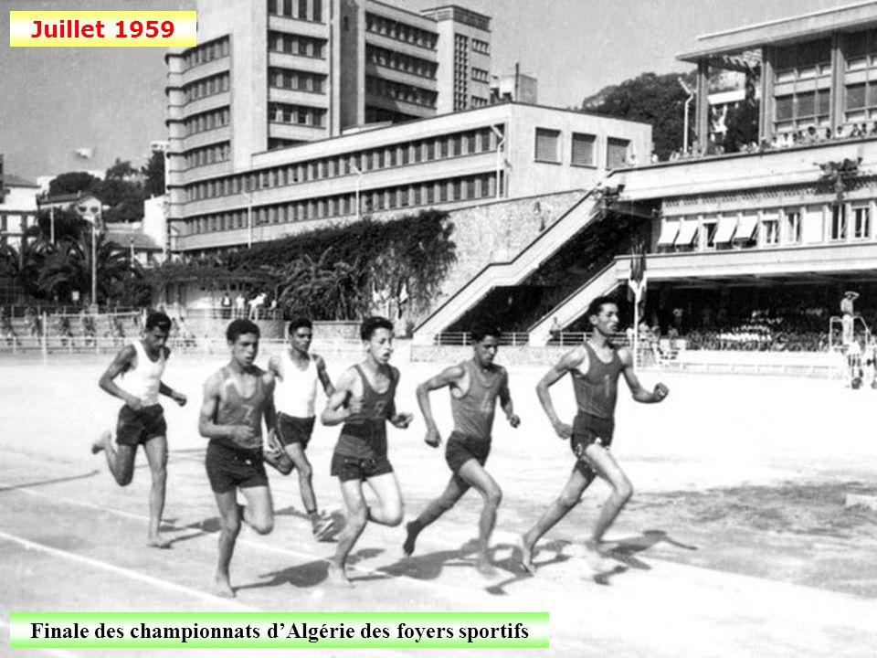 Juin 1959 Grand prix cycliste Bône-Tebessa (Constantinois)