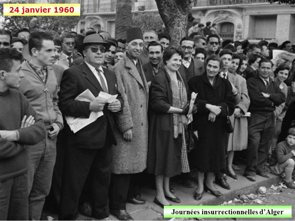 Octobre 1959 Barrage électrifié sur la frontière tunisienne