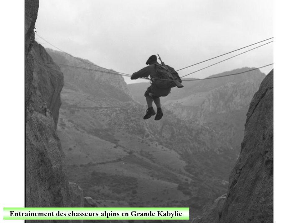 Février 1962 Stage de montagne en Kabylie