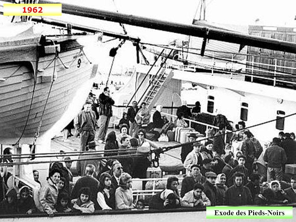 8 avril 1962 Referendum en France sur l'indépendance de l'Algérie