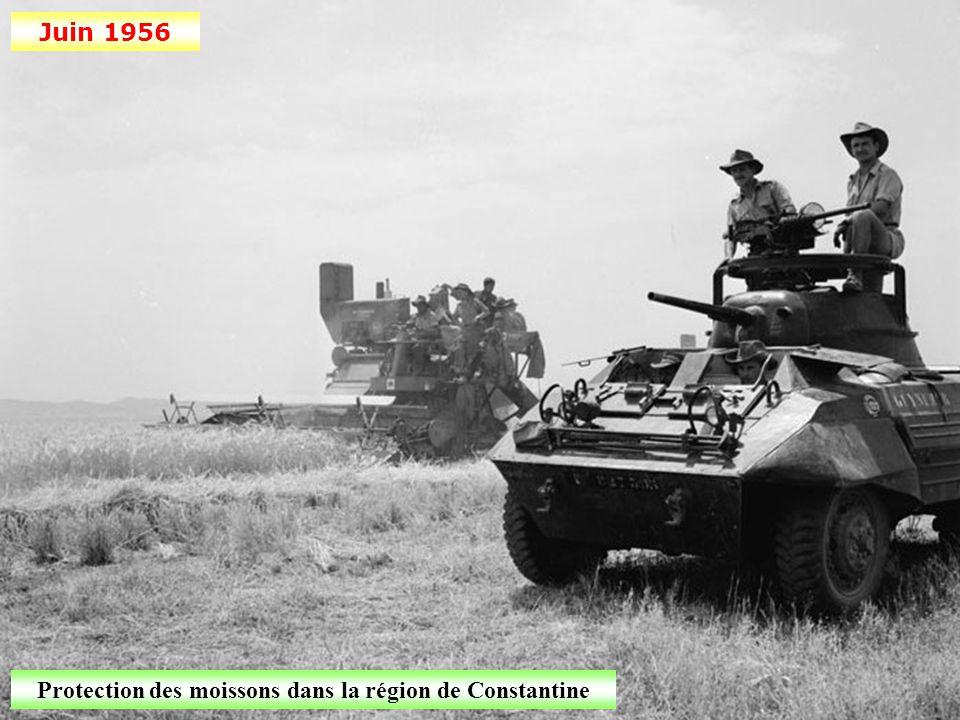 Juin 1956 Patrouille de nuit dans la banlieue d'Alger