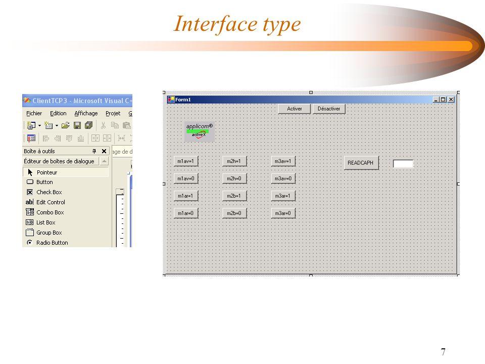 7 Interface type