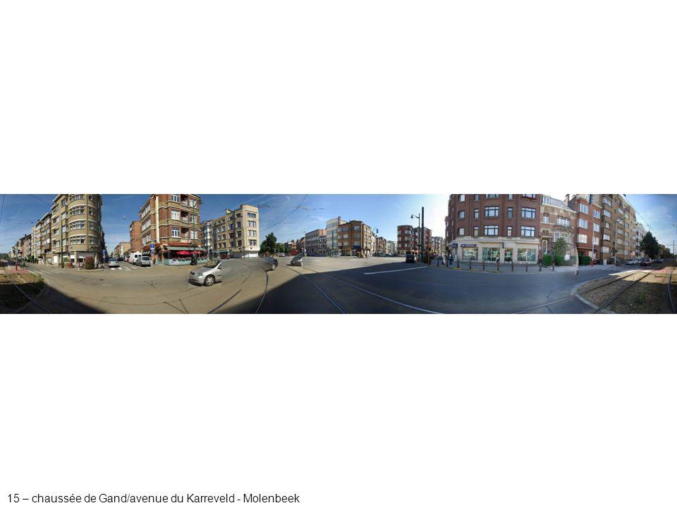 15 – chaussée de Gand/avenue du Karreveld - Molenbeek