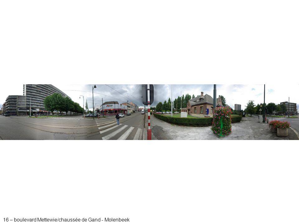 16 – boulevard Mettewie/chaussée de Gand - Molenbeek