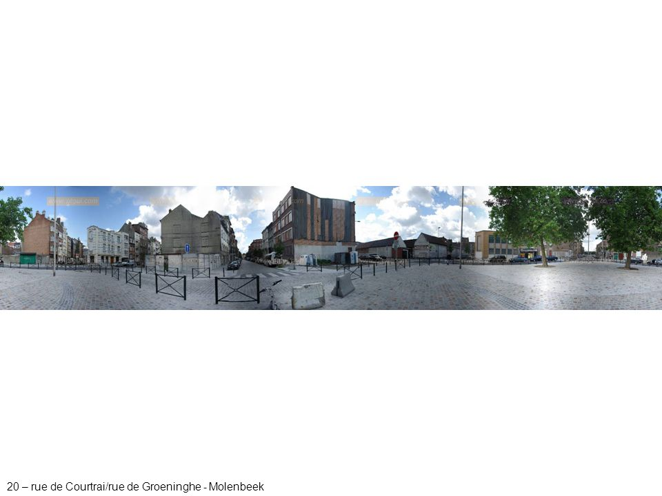 20 – rue de Courtrai/rue de Groeninghe - Molenbeek