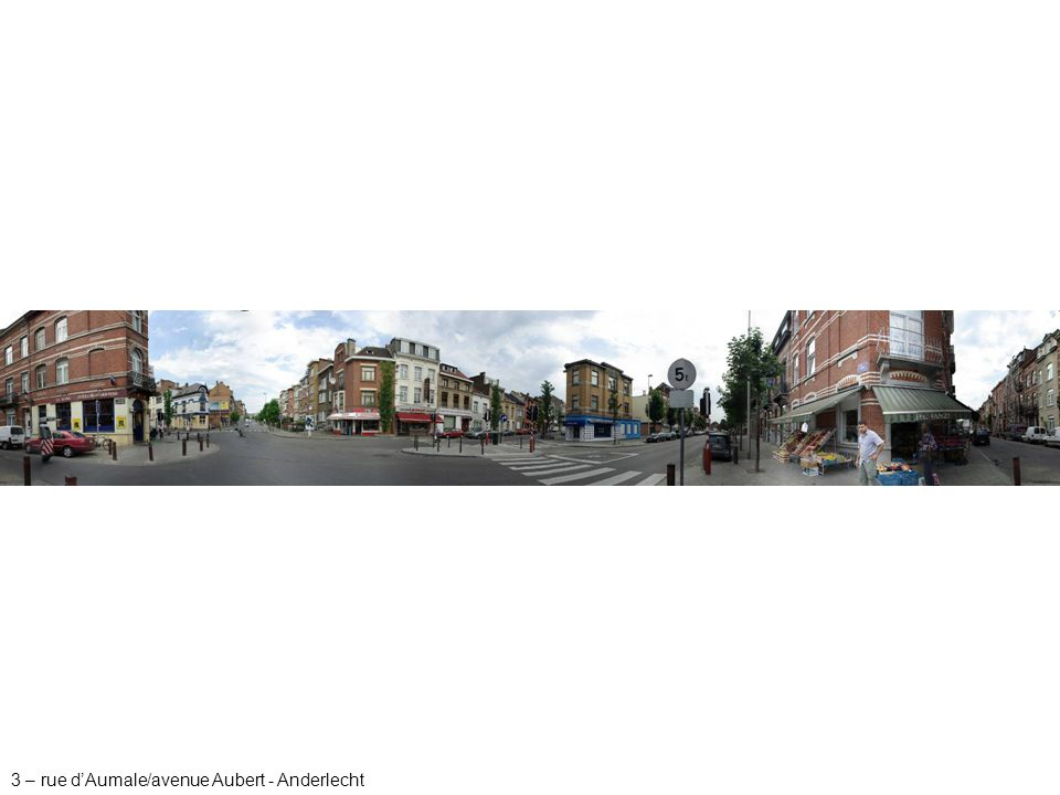 3 – rue d'Aumale/avenue Aubert - Anderlecht
