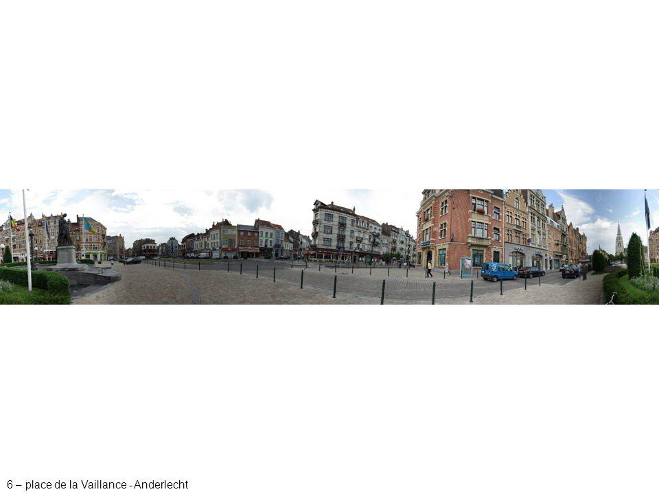 7 – avenue Gounod/rue Tinel - Anderlecht