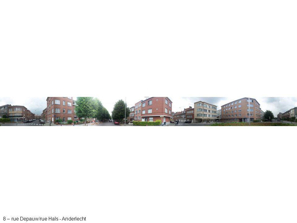 8 – rue Depauw/rue Hals - Anderlecht