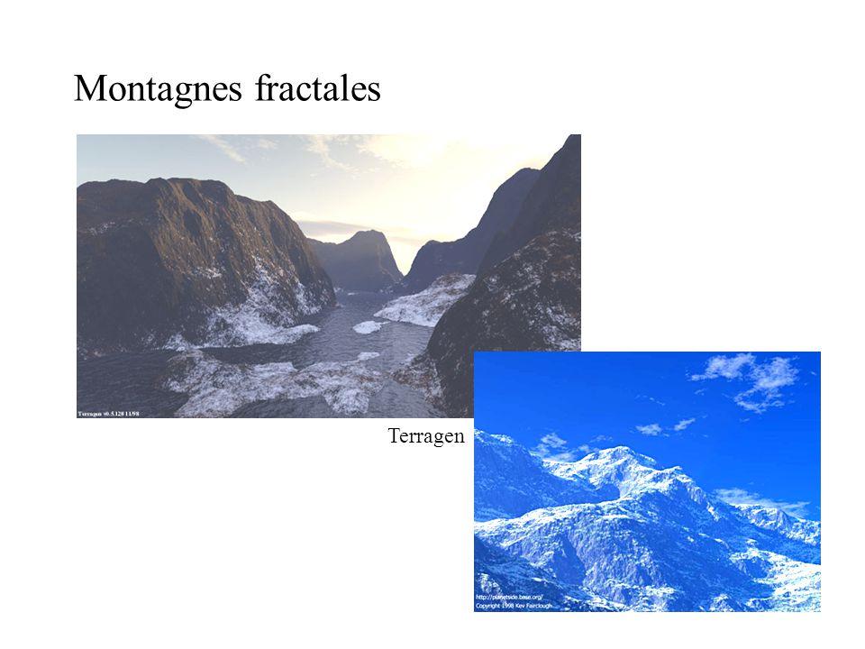 Montagnes fractales Terragen