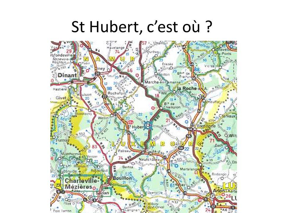 St Hubert, c'est où ?