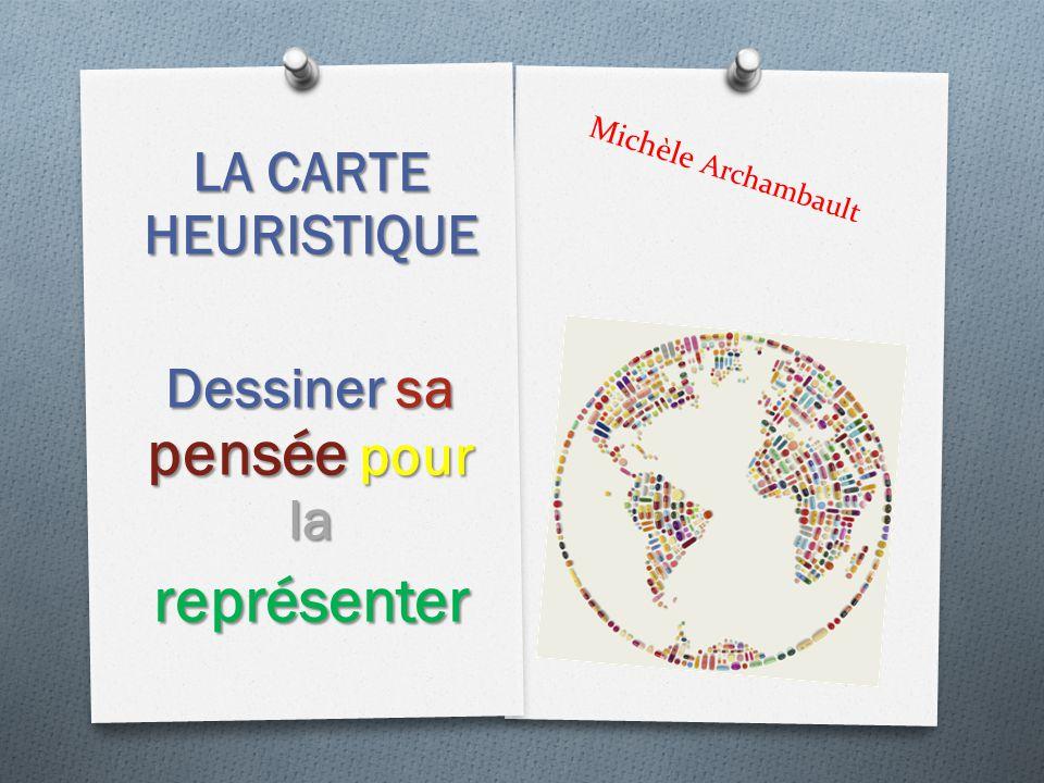 Michèle Archambault LA CARTE HEURISTIQUE Dessiner sa pensée pour la représenter
