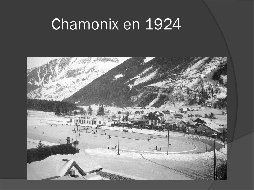 Chamonix en 1924