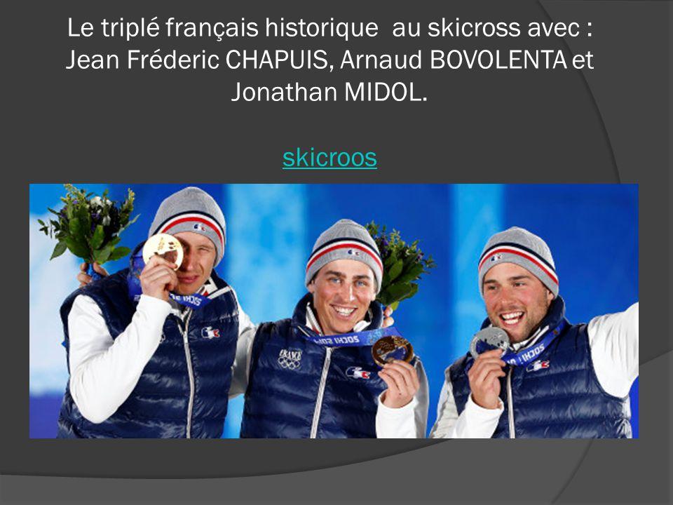 Coline Mattel a remporté une médaille de bronze au J.O de Sotchi. Coline Mattel