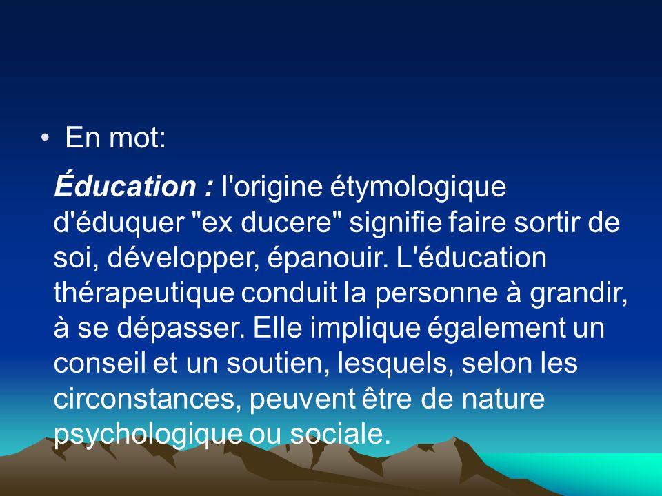 En mot: Éducation : l'origine étymologique d'éduquer