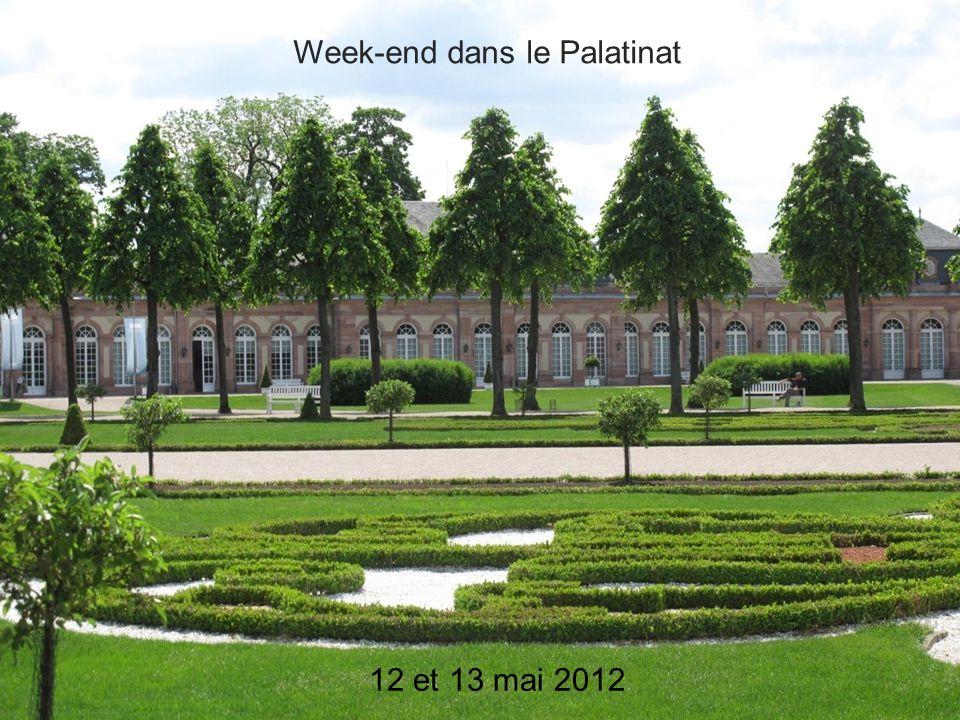 Week-end dans le Palatinat 12 et 13 mai 2012