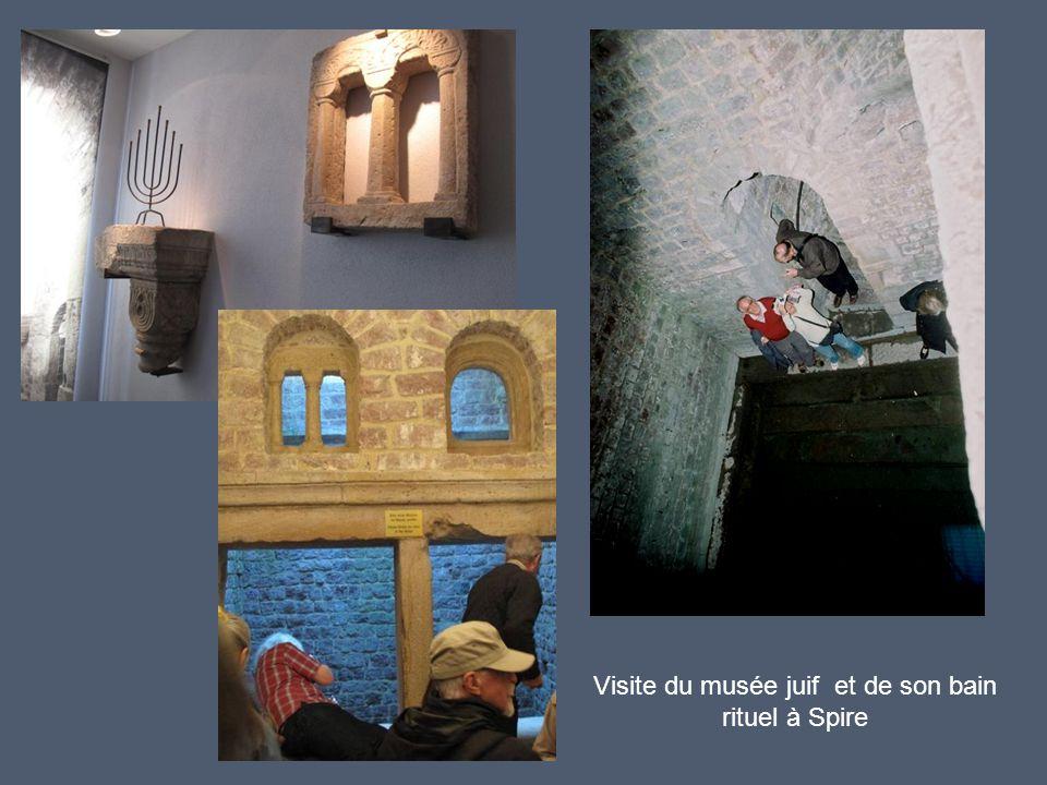 Visite du musée juif et de son bain rituel à Spire