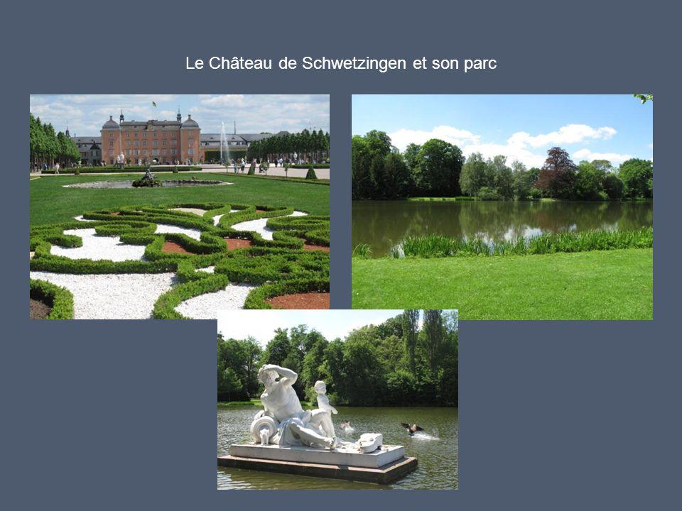 Le Château de Schwetzingen et son parc