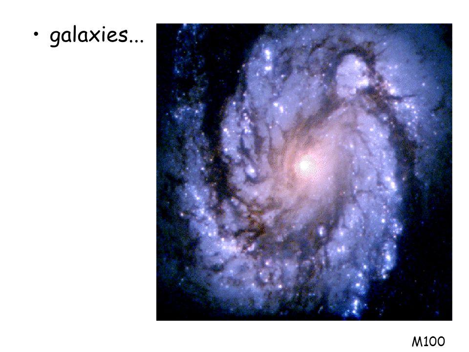 A petite échelle l'univers est inhomogène